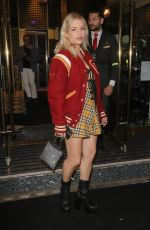 Lottie Moss Seen at Magic Mike Live VIP Night in London
