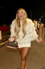 Lucinda Strafford Enjoys a night out on the Brighton seafront at The Arch and Shooshh nightclubs