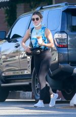 Lucy Hale Leaving Alfred