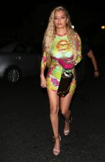 Mandana Bolourchi Seen arriving to Delilah Night Club in West Hollywood