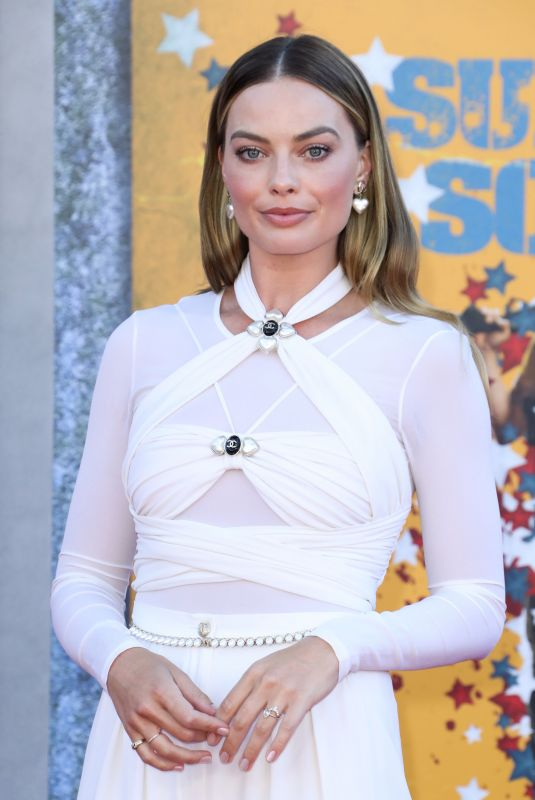 Margot Robbie Attending the premiere of The Suicide Squad in Los Angeles