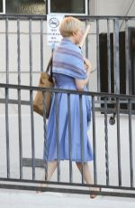 Michelle Williams Is spotted in character on the set filming a new movie in Los Angeles