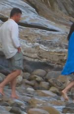 Minnie Driver Out enjoying the beach in Los Angeles