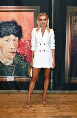 Nadiya Bychkova At the launch of Van Gogh: The Immersive Experience at The Old Truman Brewery, by Exhibition Hub and Fever