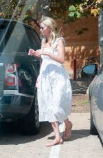 Nicky Hilton Wraps up a lunch date with her girls while out enjoying the sunshine in Malibu