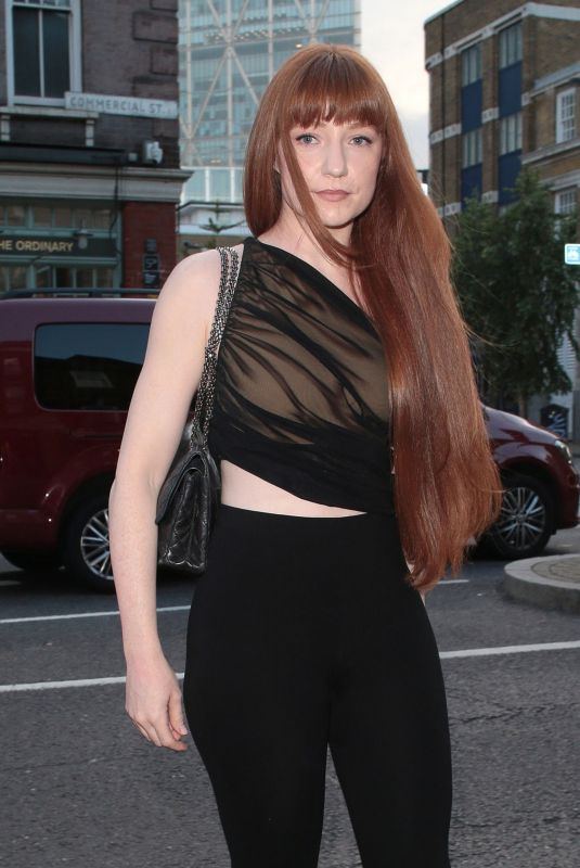 Nicola Roberts At the launch of Van Gogh: The Immersive Experience at The Old Truman Brewery, by Exhibition Hub and Fever