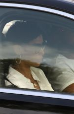 Nicole Murphy Shows off her curves in skin-tight jeans on a date with a mystery man at The Peninsula Hotel