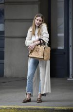 Olivia Palermo Pictured stepping out in New York