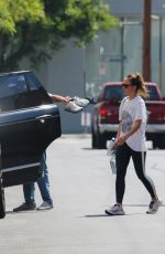 Olivia Wilde Out after her gym session in Los Angeles