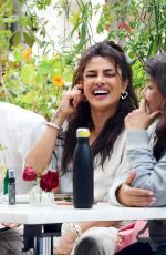 Priyanka Chopra And Nick Jonas pack on the PDA during a family lunch date in London