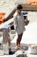 Rebekah Vardy Enjoying the Greek sunshine while on vacation out in Mykonos