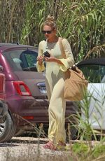 Romee Strijd Out for lunch at Casa Jondal in Ibiza