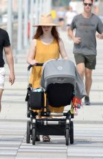 Rose Leslie Spotted out in New York