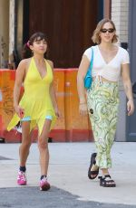 Rowan Blanchard All smile after lunch in Manhattan