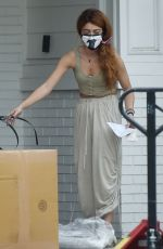 Sarah Hyland At her home in North Hollywood