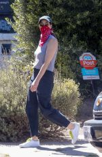 Sarah Silverman Out for an afternoon walk with their dog in Los Feliz
