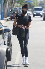Shay Mitchell Displays her fit body after another sweaty workout session in West Hollywood