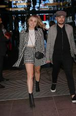 Sian Welby Seen holding hands with male friend in London