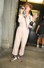 Susan Sarandon Speaks at a Free Donzinger protest in New York