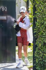 Vanessa Hudgens Leaving a pilates class in West Hollywood