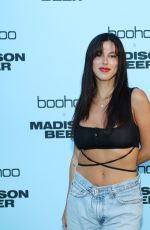 Victoria Villarroel Attends boohoo x Madison Beer Launch Event at Pendry West Hollywood in Los Angeles