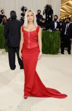 Addison Rae Attends The Met Gala Celebrating In America: A Lexicon Of Fashion at Metropolitan Museum of Art in New York City