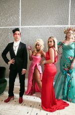 Addison Rae Behind The Scenes With Youtube Creators For Met Gala, New York