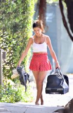 Alessandra Ambrosio Carries her son Noah
