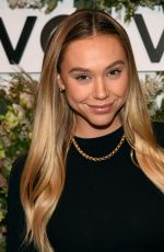 Alexis Ren At Revolve Gallery NYFW event in New York