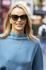 Amanda Holden Leaves Global Radio after presenting her show in London