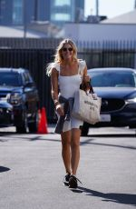 Amanda Kloots Seen at the Dancing With The Stars rehearsal studio in Los Angeles