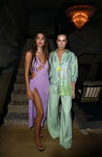 Amelia Hamlin At the Roberta Einer event during Fashion Week at the NoMad in London