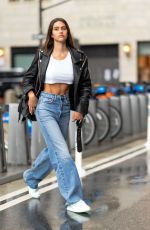 Amelia Hamlin Seen out & about in New York City