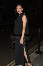 Anna Brewster Seen at British Vogue and Tiffany & Co celebrate Fashion and Film at the Londoner Hotel in Leicester Square