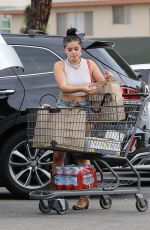 Ariel Winter Rocks Daisy Dukes and Cowboy boots while grocery shopping in Los Angeles