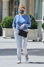 Ariel Winter Visiting a skin care clinic in Los Angeles