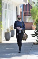 Ashlee Simpson Seen leaving the gym in Los Angeles