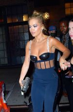 Ashley Benson & Rita Ora Steps out hand in hand for dinner in New York City