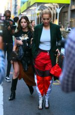 Ashley Benson & singer Rita Ora pair up and step out in New York City