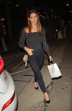 Ashley Greene Is all smiles as she steps out for dinner at celebrity hot spot Craig