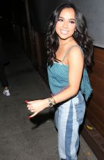 Becky G Out for dinner at Craig