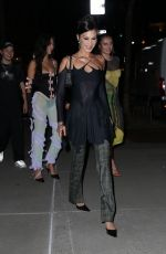Bella Hadid Seen coming out from her apartment in New York