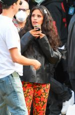 Camila Cabello Arrives in a colorful outfit at the Global Citizen concert event held at Central Park in New York