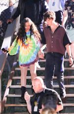 Camila Cabello & Shawn Mendes Seen leaving after performing at the Global Citizens Concert in New York