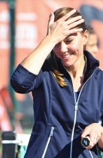 Catherine Duchess of Cambridge Enjoyed a game of doubles with US Open winner Emma Raducanu in London