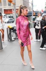 Chantel Jeffries Arrives at the Revolve Party in New York City