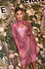 Chantel Jeffries Attends the inaugural REVOLVE GALLERY at Hudson Yards in New York City