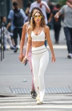 Chantel Jeffries Shows off her fab figure while out & about in New York City