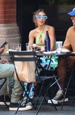 Chantel Jeffries Spotted in New York