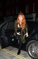 Charlotte Tilbury Pictured arriving at The Chiltern Fire House in London